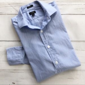 J. Crew Ludlow 120's 2 ply chambray shirt